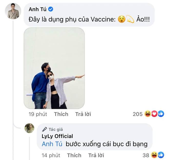 1 cặp đôi Vbiz đi tiêm vaccine cũng quấn quýt không rời, chăm phát cẩu lương thế này mà chưa chịu công khai - Ảnh 3.