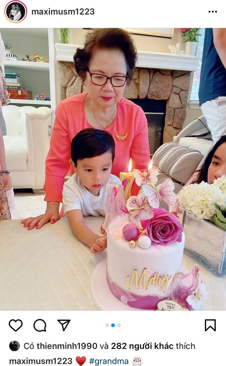 Phạm Hương lần đầu hé lộ chân dung mẹ chồng giàu có quyền lực, chỉ 1 khoảnh khắc là biết yêu chiều cháu nội cỡ nào - Ảnh 1.