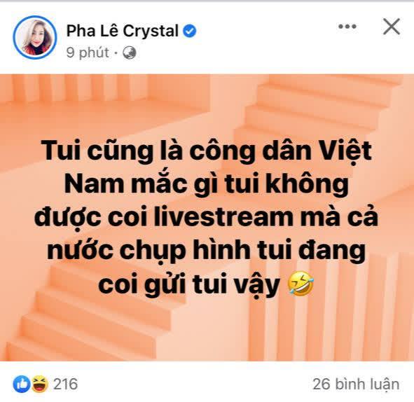 Pha Lê bị bắt gặp vào xem livestream của Công Vinh, chẳng ngại hé lộ luôn thái độ của chồng ngoại quốc - ảnh 2