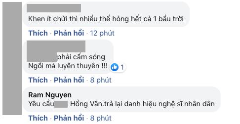 NS Hồng Vân bị netizen bão công kích đúng ngày Giỗ tổ sân khấu, lùm xùm quảng cáo bất ngờ bị khui lại - ảnh 4