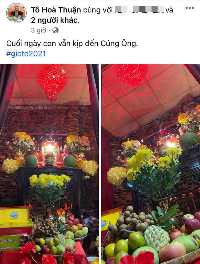 Showbiz Việt ngày Giỗ tổ sân khấu: Lý Hải - Khánh Vân và dàn sao Việt dâng lễ tại gia, Nam Thư muốn khóc vì tủi thân - ảnh 9