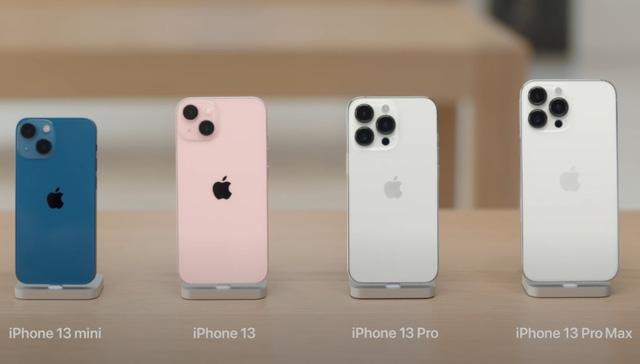 Apple khoe ảnh chi tiết 4 mẫu iPhone 13 vừa ra mắt - ảnh 1