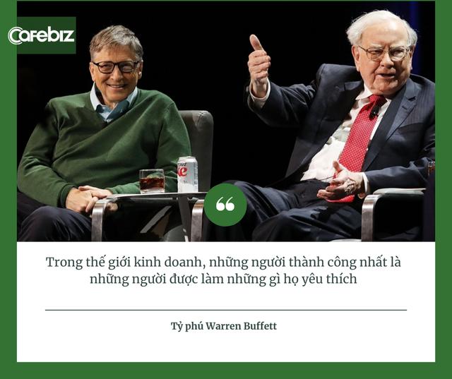 Điểm chung thú vị của người giàu, từ tỷ phú Việt Phạm Nhật Vượng, Trần Đình Long tới tỷ phú Mỹ Bill Gates, Warren Buffett: Họ không làm việc vì tiền! - ảnh 1