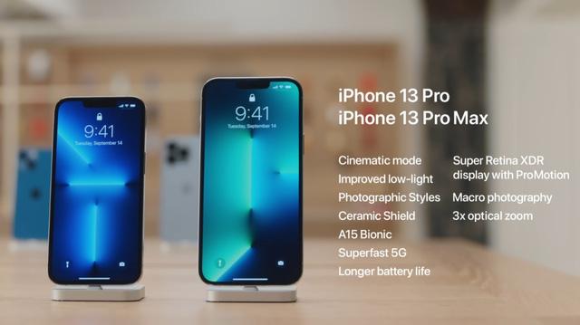 Apple khoe ảnh chi tiết 4 mẫu iPhone 13 vừa ra mắt - ảnh 3