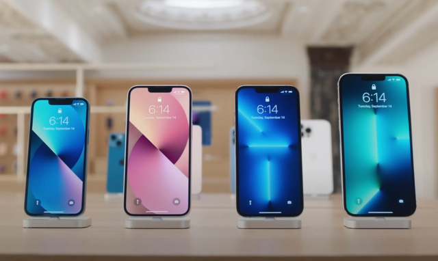 Apple khoe ảnh chi tiết 4 mẫu iPhone 13 vừa ra mắt - ảnh 9