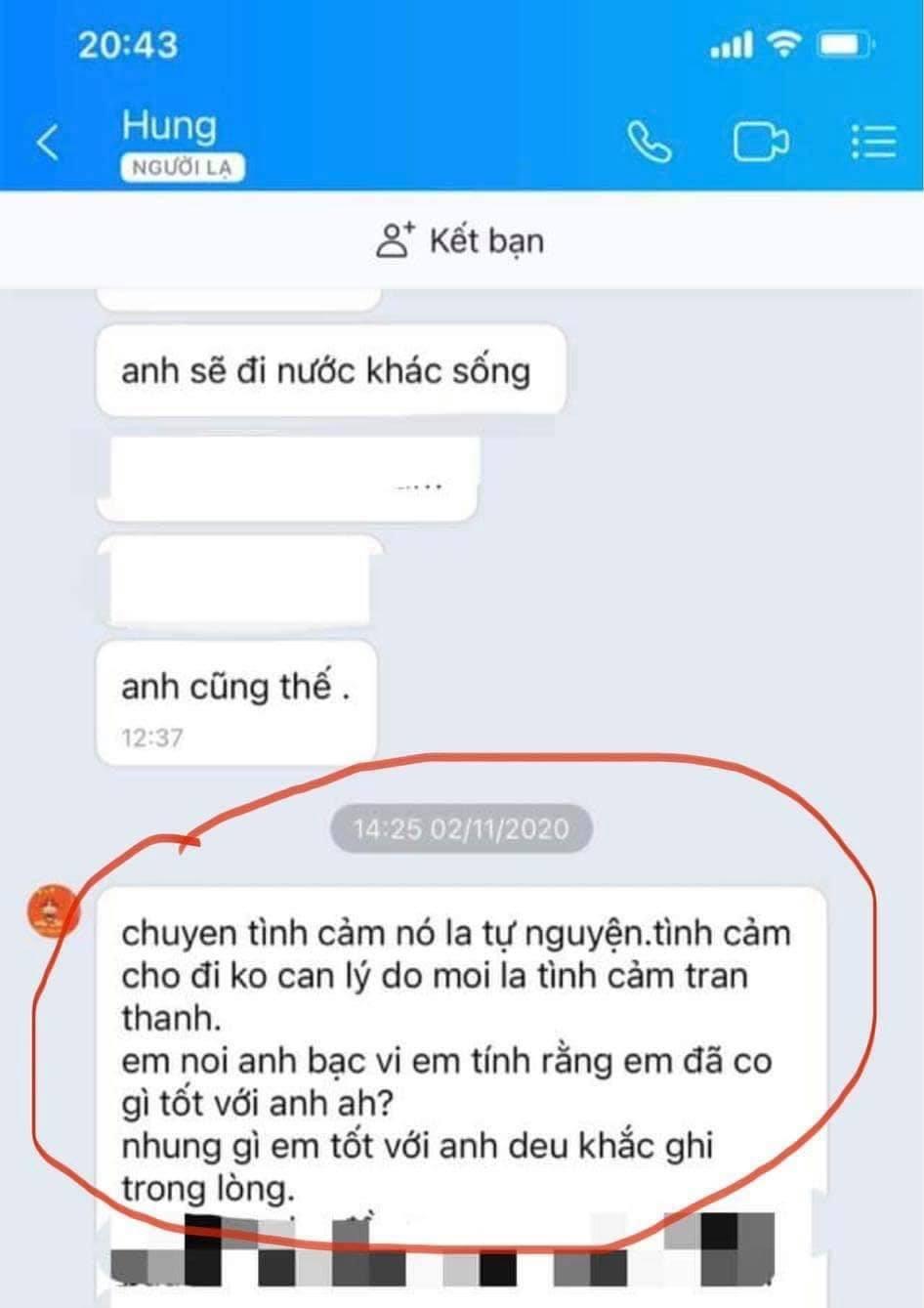 Sau 5 năm Quế Vân nhắc lại drama tình ái với Trường Giang, kèm cả tin nhắn em tốt quá, đừng bỏ rơi anh - Ảnh 4.