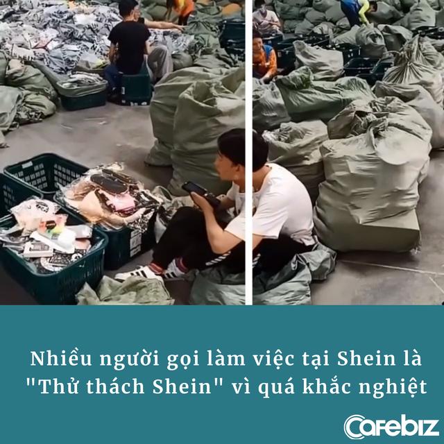 Vạch trần Shein - đế chế tỷ đô bí ẩn nhất Trung Quốc: Nhà xưởng tồi tàn, nhân viên phải đi bộ cả chục km/ngày, tất cả đều bị cấm nói về công ty - ảnh 4