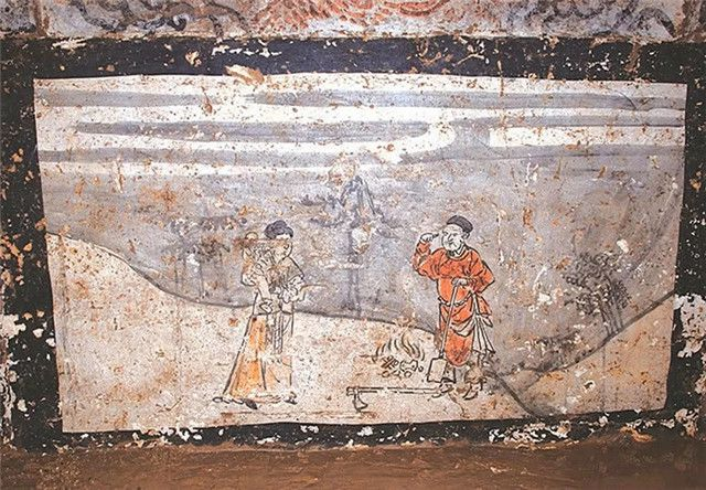Soi tranh vẽ cảnh sinh hoạt đời xưa trong mộ cổ, dân mạng kịch liệt chỉ trích: Nhìn kỹ mới thấy 1 chi tiết quá mức rùng mình - ảnh 4