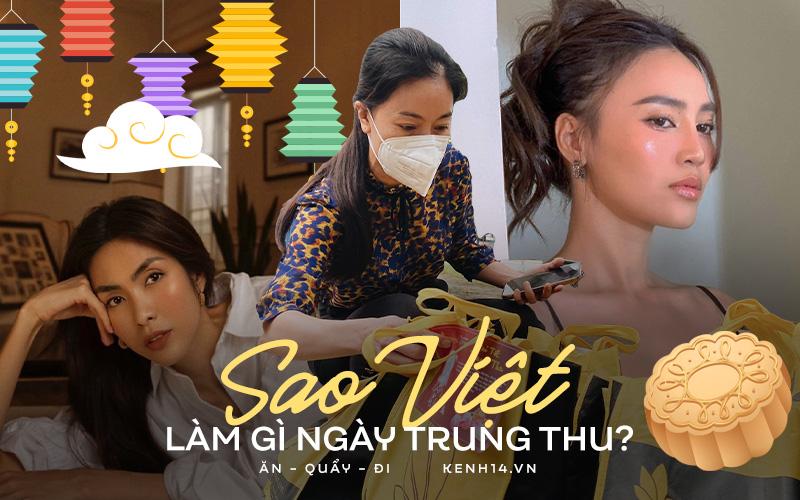 Cả showbiz Việt rộn ràng đón Trung thu: Người làm bánh mì - cày phim sưng mắt, riêng