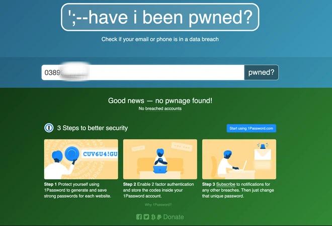 2 cách để kiểm tra xem bạn có bị lộ thông tin cá nhân trên Internet hay không? - ảnh 5