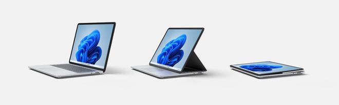 Microsoft ra mắt Surface Laptop Studio: Thiết kế biến hoá từ laptop sang tablet - ảnh 1