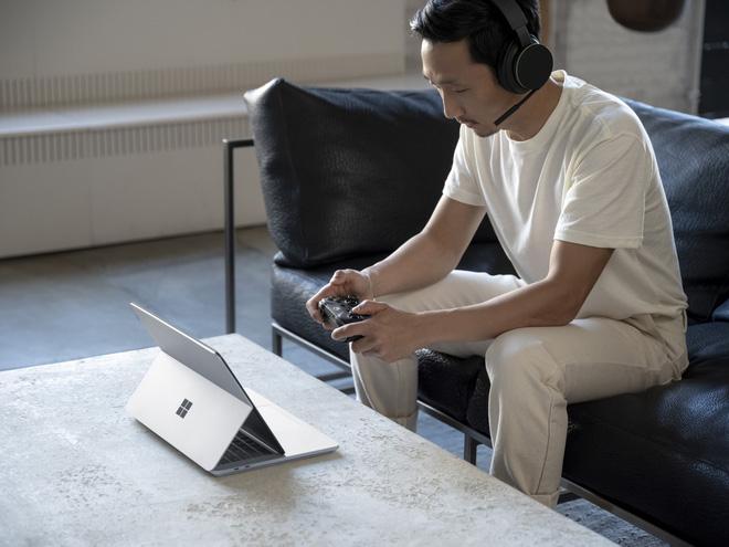 Microsoft ra mắt Surface Laptop Studio: Thiết kế biến hoá từ laptop sang tablet - ảnh 2