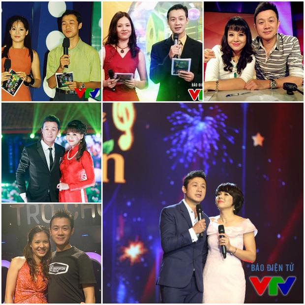 Cặp đôi vàng của VTV Diễm Quỳnh - Anh Tuấn ngày ấy bây giờ: Ngoài đời thân thiết, làm nghề ăn ý như vừng trộn với lạc, thậm chí từng bị hiểu nhầm là vợ chồng - ảnh 1