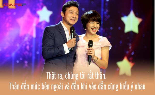 Cặp đôi vàng của VTV Diễm Quỳnh - Anh Tuấn ngày ấy bây giờ: Ngoài đời thân thiết, làm nghề ăn ý như vừng trộn với lạc, thậm chí từng bị hiểu nhầm là vợ chồng - ảnh 2