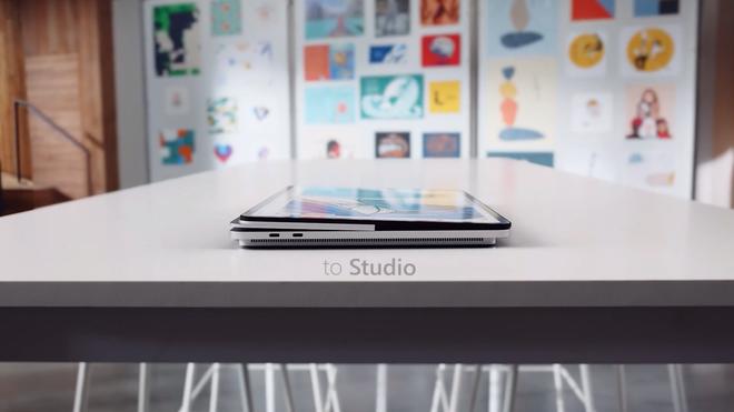 Microsoft ra mắt Surface Laptop Studio: Thiết kế biến hoá từ laptop sang tablet - ảnh 3