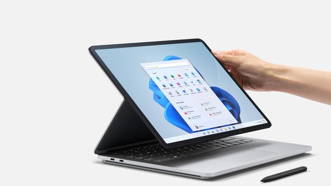 Microsoft ra mắt Surface Laptop Studio: Thiết kế biến hoá từ laptop sang tablet - ảnh 4