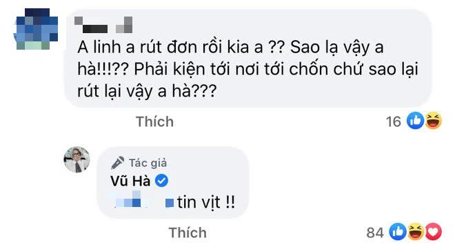 NS Hoài Linh bị đồn rút đơn kiện CEO Đại Nam, Vũ Hà chỉ nói 2 chữ làm sáng tỏ tất cả? - Ảnh 2.