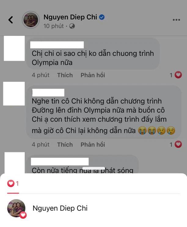 MC Diệp Chi âm thầm làm điều này khi netizen vẫn tràn vào hỏi: Vì sao không tiếp tục dẫn Olympia? - ảnh 2