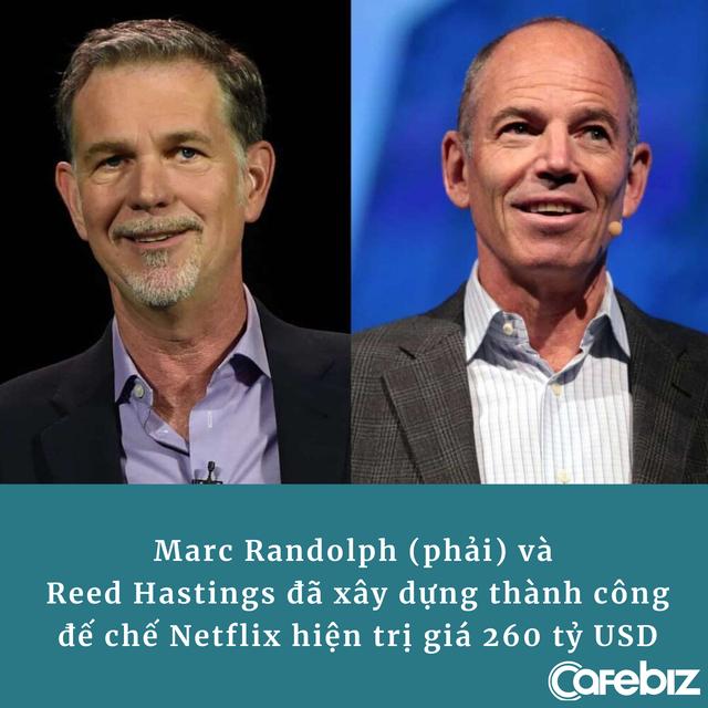 CEO đầu tiên của Netflix: Nhờ nhịn đói, ăn xin từ đồng 25 xu lẻ mà tìm ra cách làm nên đế chế 260 tỷ USD - ảnh 2