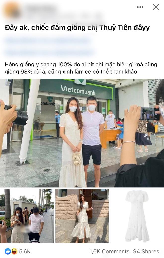 Bắt gặp Thủy Tiên lên show mới vẫn mặc đúng chiếc váy đi sao kê từ thiện cùng Công Vinh - Ảnh 4.