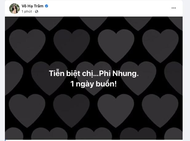 Cả showbiz Việt xót thương khi hay tin ca sĩ Phi Nhung qua đời: Lan Ngọc buồn bã, Đan Trường xúc động nói lời tiễn biệt - Ảnh 10.
