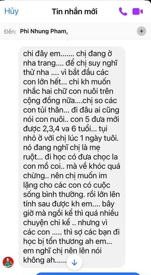 Ca sĩ Phi Nhung có tâm nguyện đặc biệt dành cho 23 con nuôi nhưng chưa thành, Xuân Lan tiết lộ tin nhắn quá đau lòng! - ảnh 3