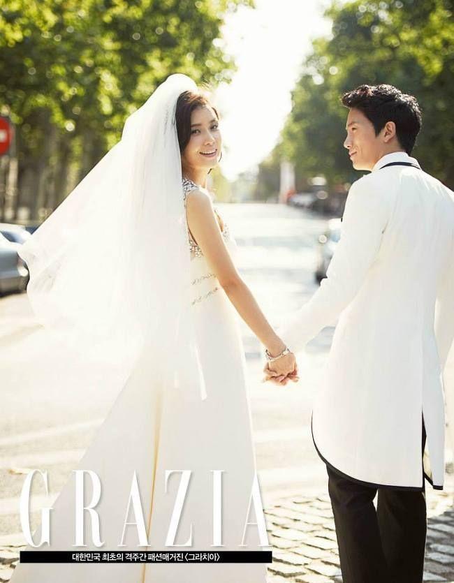 Mợ út tài phiệt Lee Bo Young và tài tử Ji Sung kỷ niệm 8 năm kết hôn, bộ ảnh cưới thế kỷ và tin đồn tiểu tam bỗng hot trở lại - ảnh 8