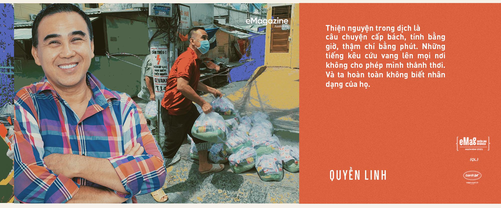 Quyền Linh: Đã nỗ lực vì bao mảnh đời ở miền Bắc, dầm mình trong mưa lũ miền Trung, sao có thể đứng ngoài nỗi đau của Sài Gòn - mảnh đất cho mình tất cả - Ảnh 2.