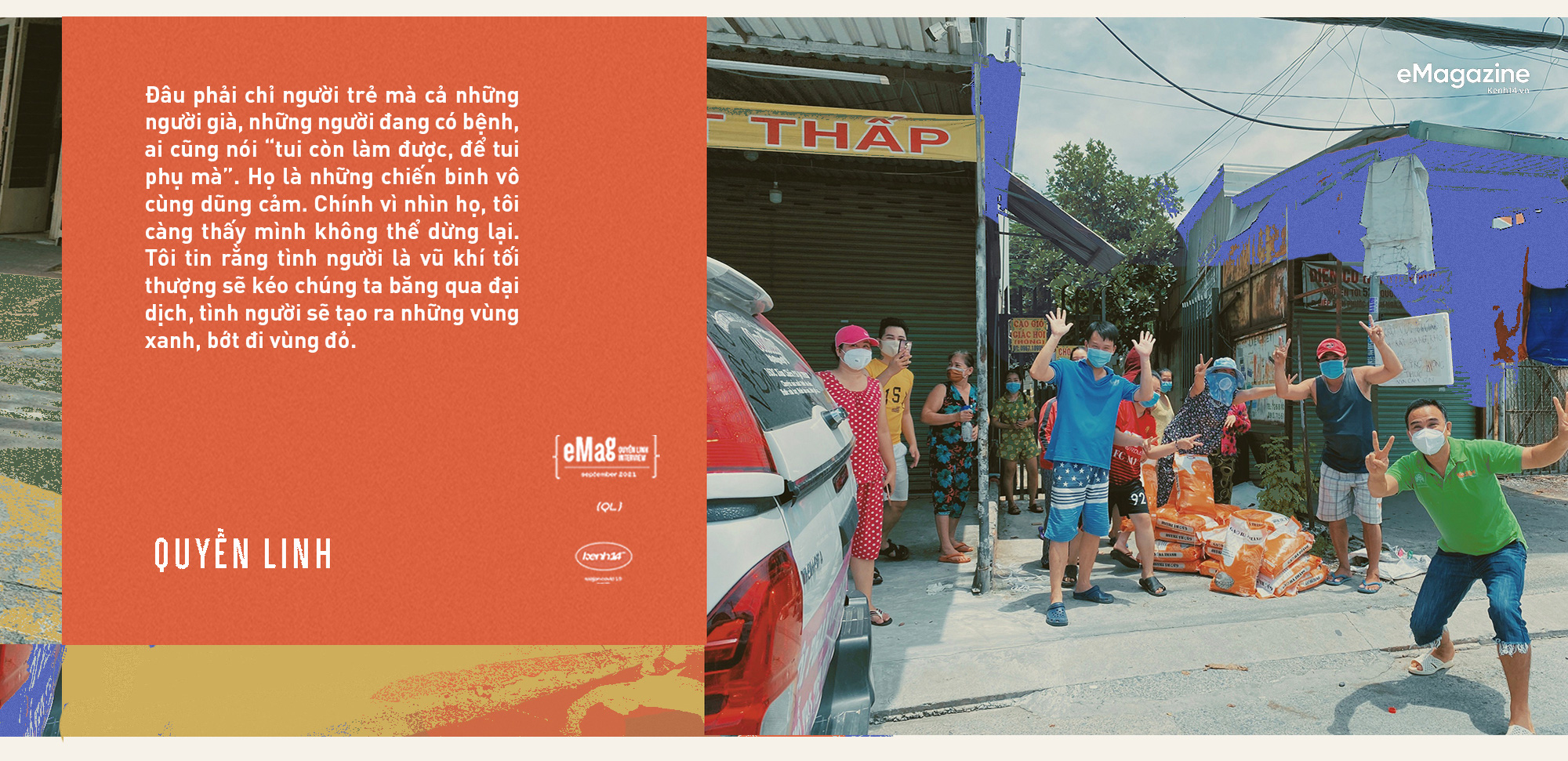 Quyền Linh: Đã nỗ lực vì bao mảnh đời ở miền Bắc, dầm mình trong mưa lũ miền Trung, sao có thể đứng ngoài nỗi đau của Sài Gòn - mảnh đất cho mình tất cả - Ảnh 15.