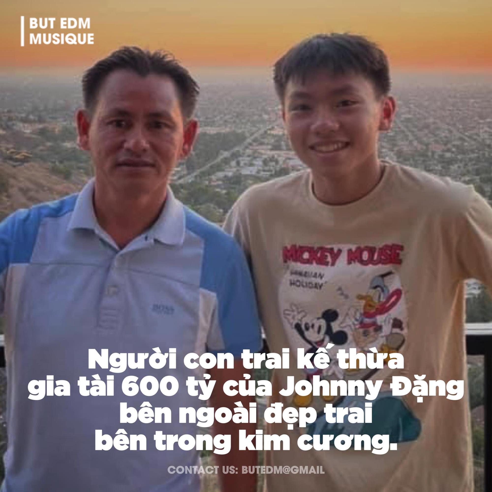 Xôn xao thông tin vua kim hoàn Johnny Đặng cho con trai thừa kế gia tài 600 tỷ? - Ảnh 2.