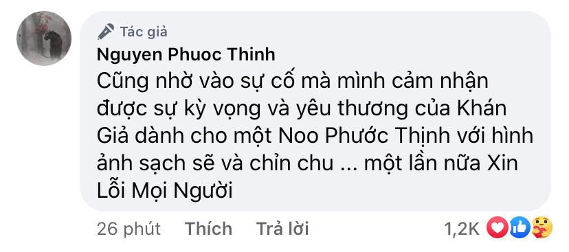 Noo Phước Thịnh xin lỗi khán giả vì bài đăng sặc mùi 18+, cảm nhận 1 điều sau sự cố - Ảnh 3.