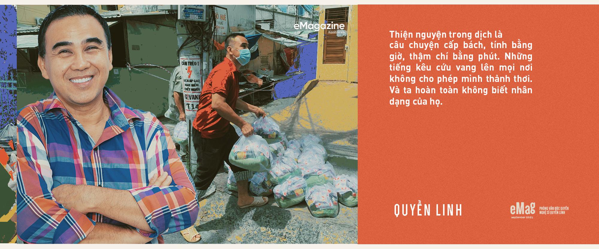 Quyền Linh: Sài Gòn đã cho tôi quá nhiều, giờ khi thành phố bị ốm, sao mình đành lòng ở trong nhà mà hưởng thụ - Ảnh 3.