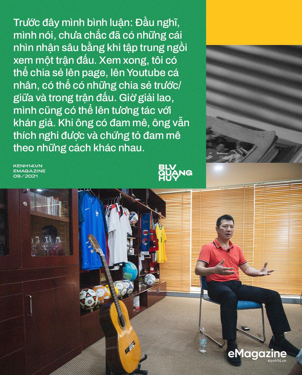 BLV Quang Huy: Tôi không thể nhớ đường nhưng sẽ nhớ tên cầu thủ mới, trận đấu nào quá nhiều cảm xúc tôi sẽ ngủ lại cơ quan - Ảnh 34.
