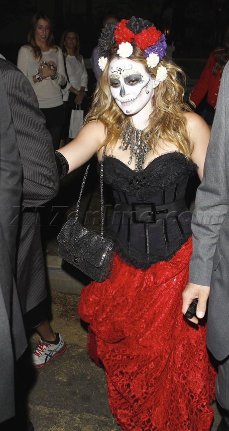 Người đẹp Hollwood hóa trang dịp Halloween 2