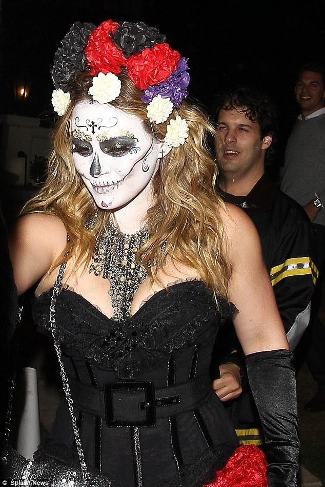 Người đẹp Hollwood hóa trang dịp Halloween 4