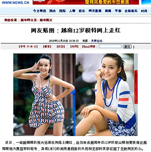 Những sao Việt được truyền thông nước ngoài chú ý 8