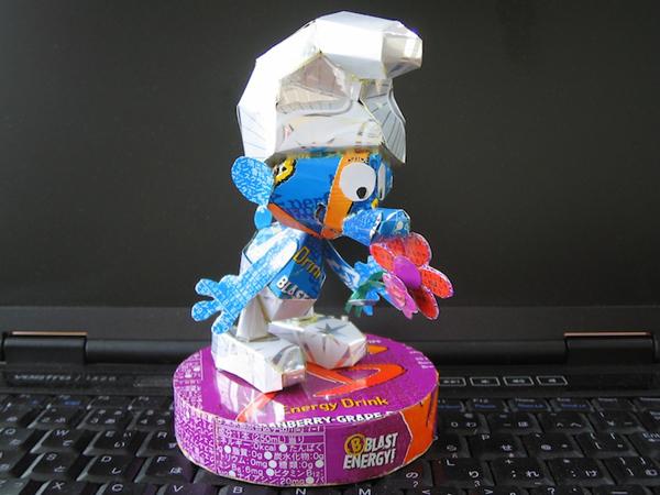 Nhân vật hoạt hình siêu kute từ... lon nước 5