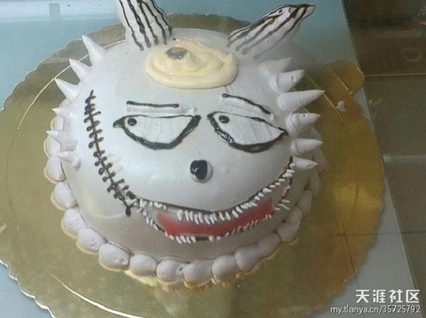 Những chiếc bánh sinh nhật... xấu kinh hoàng 9