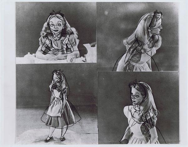 Kathryn Beaumont hào hứng xem bản thiết kế tạo hình của Alice phiên bản  hoạt hình