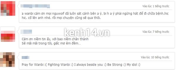 """Xúc động trước ca khúc """"Cảm ơn"""" của Wanbi Tuấn Anh"""