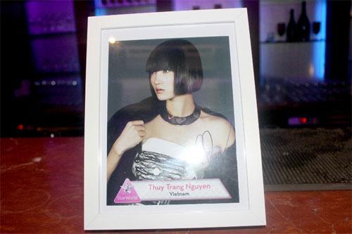 Thùy Trang tự tin tại họp báo Asia's Next Top Model 1