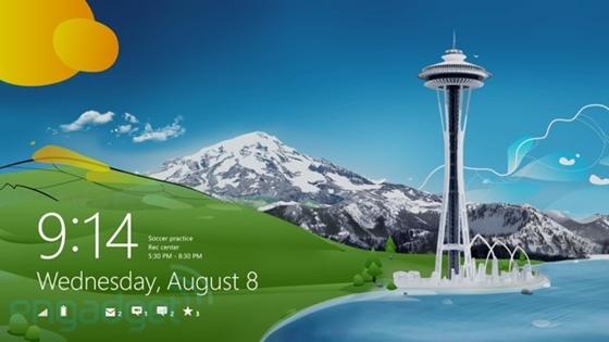 Windows 8 Pro được cài đặt mà không cần bản quyền 1