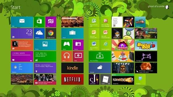 Windows 8 Pro được cài đặt mà không cần bản quyền 2