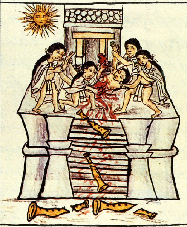 human sacrifice in the aztec culture Aztec religion: perhaps the most highly elaborated aspect of aztec culture was the religious system human sacrifice in human sacrifice.