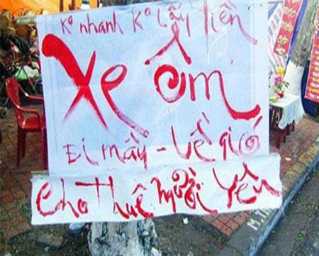 Những hình ảnh ngộ nghĩnh chỉ có ở Việt Nam 6