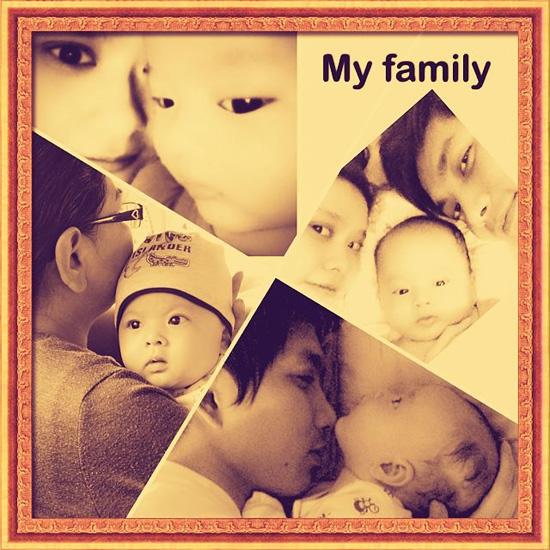 Ảnh dễ thương của gia đình Tim - Trương Quỳnh Anh 1