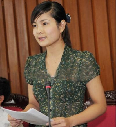 Nữ ĐBQH tỉnh Hải Dương trở thành thần tượng của giới trẻ 3
