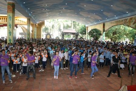 6.000 người khuyết tật cùng nhảy điệu Gangnam Style 1