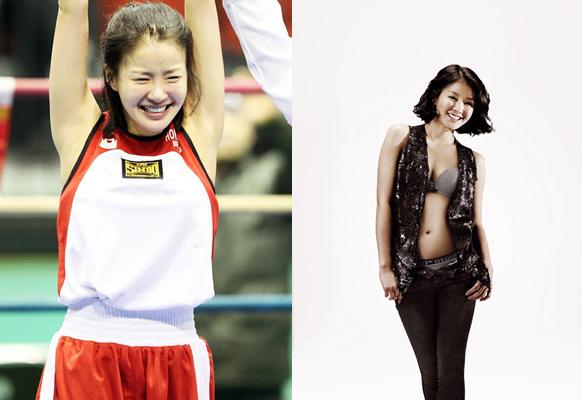 """Vẻ đẹp của """"Boxing girl"""" Khả Ngân gây sốt tại Hàn Quốc 3"""