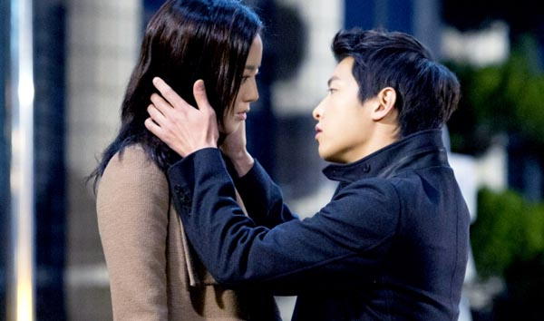Song Joong Ki hôn say đắm Moon Chae Won 2